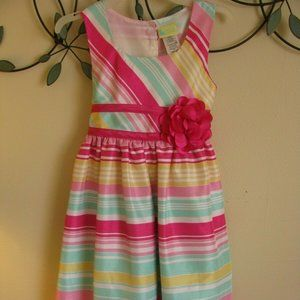 Holiday Editions Easter Dress Toddler Size XS 4/5